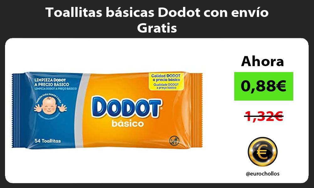 Toallitas básicas Dodot con envío Gratis