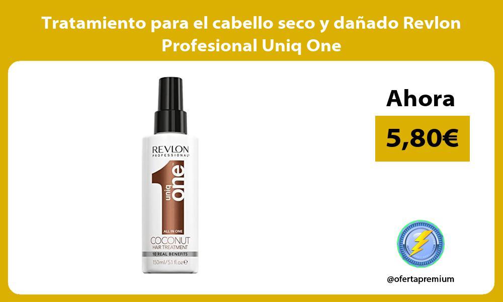Tratamiento para el cabello seco y dañado Revlon Profesional Uniq One