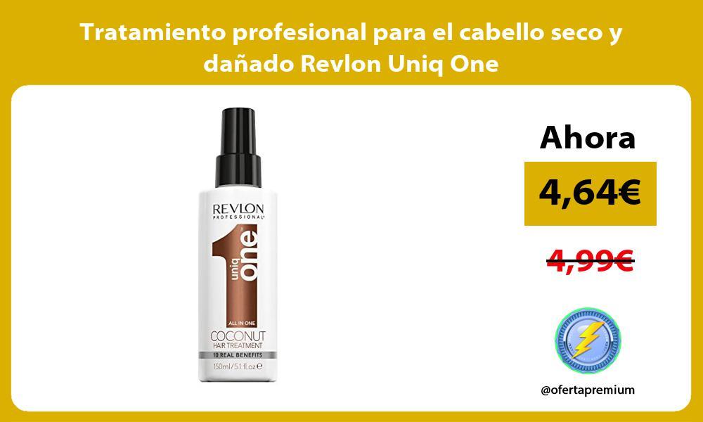 Tratamiento profesional para el cabello seco y dañado Revlon Uniq One