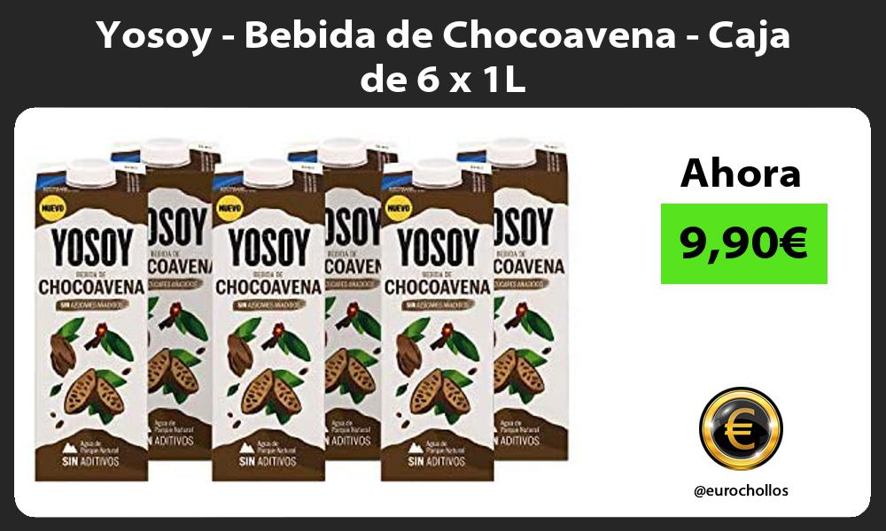 Yosoy Bebida de Chocoavena Caja de 6 x 1L