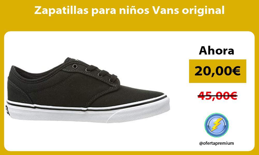 Zapatillas para niños Vans original
