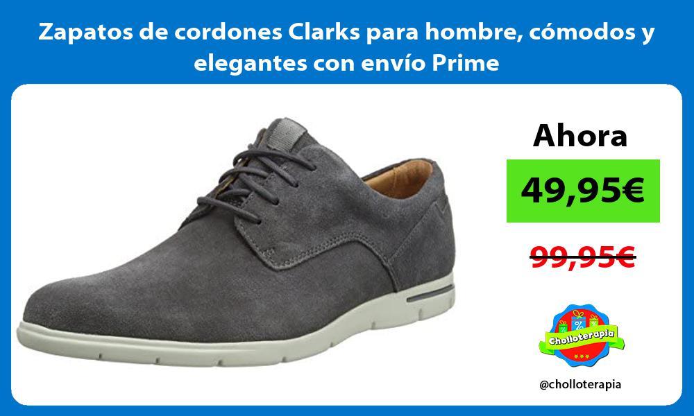 Zapatos de cordones Clarks para hombre cómodos y elegantes con envío Prime