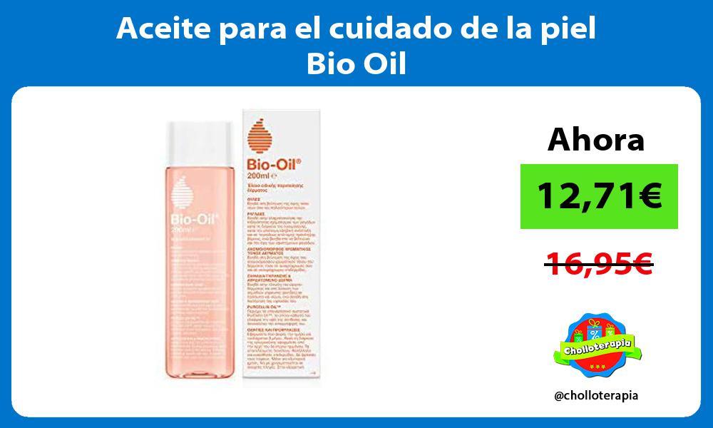 Aceite para el cuidado de la piel Bio Oil