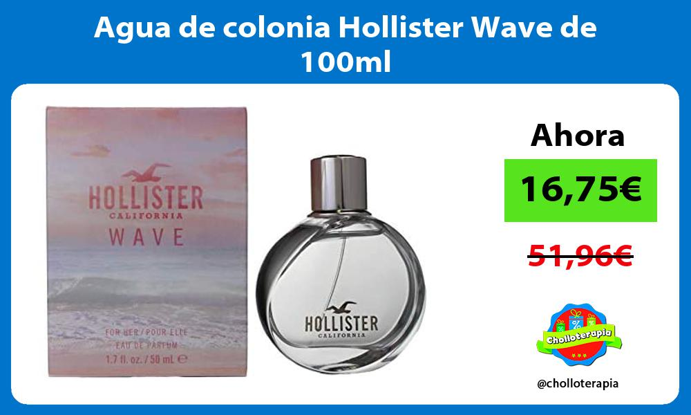 Agua de colonia Hollister Wave de 100ml