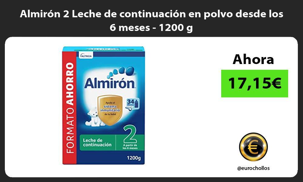 Almirón 2 Leche de continuación en polvo desde los 6 meses 1200 g