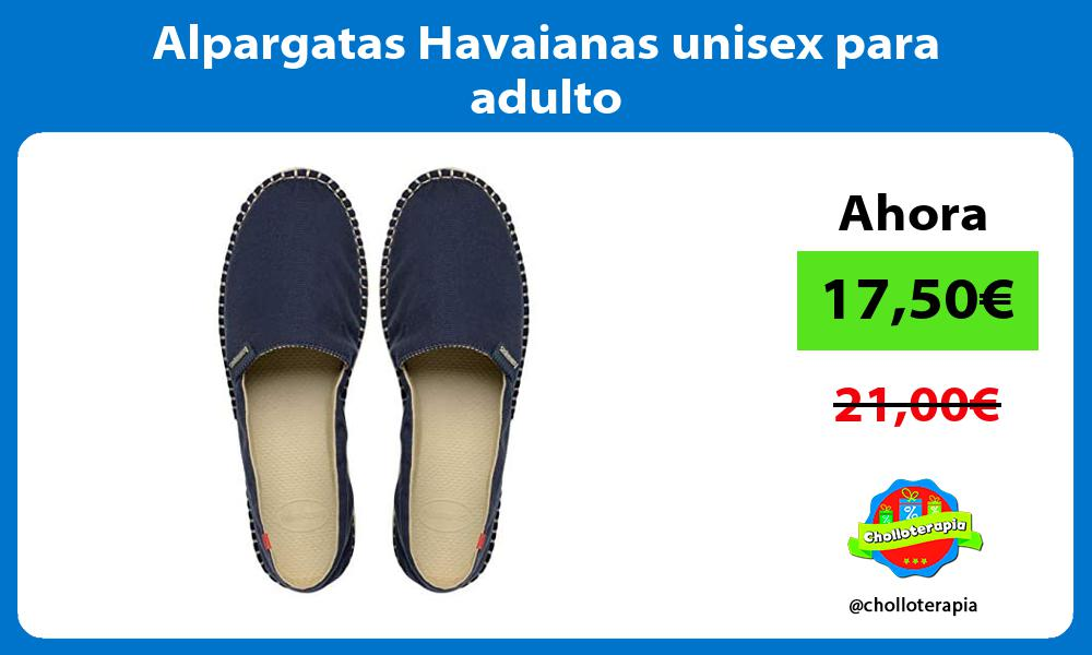 Alpargatas Havaianas unisex para adulto