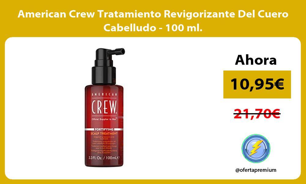 American Crew Tratamiento Revigorizante Del Cuero Cabelludo 100 ml