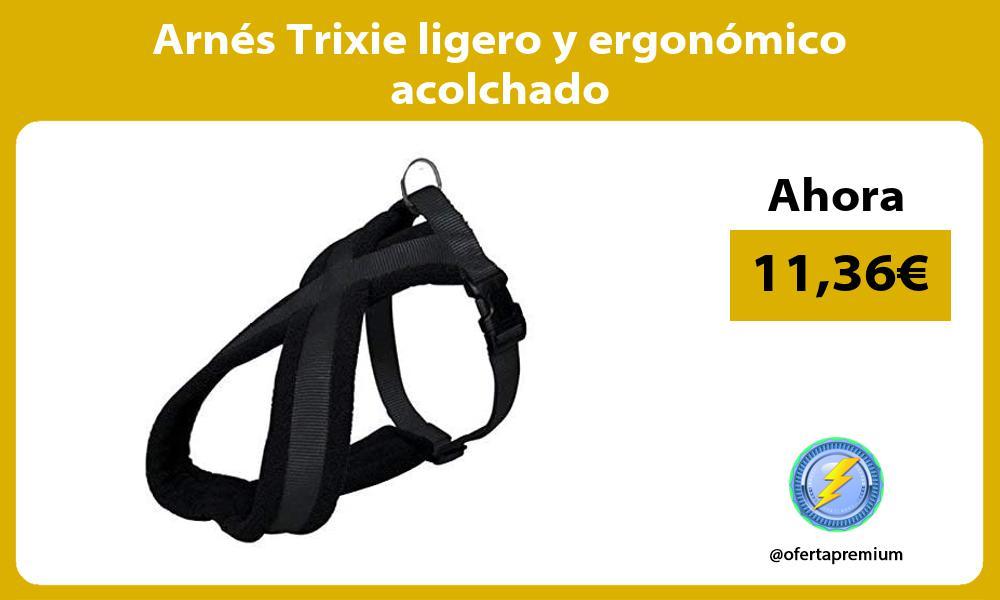 Arnés Trixie ligero y ergonómico acolchado