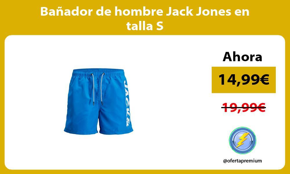 Bañador de hombre Jack Jones en talla S