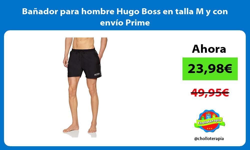 Bañador para hombre Hugo Boss en talla M y con envío Prime