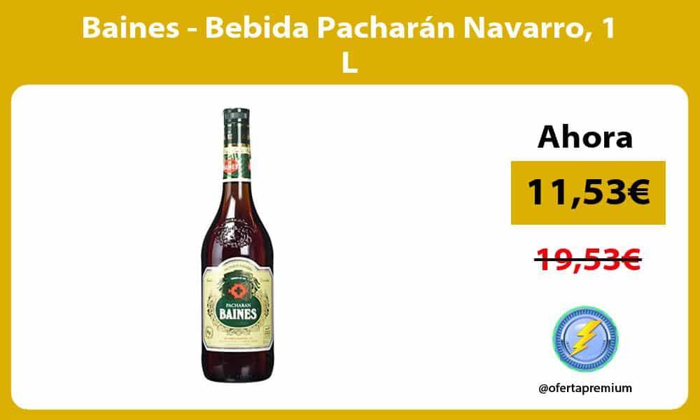 Baines Bebida Pacharán Navarro 1 L