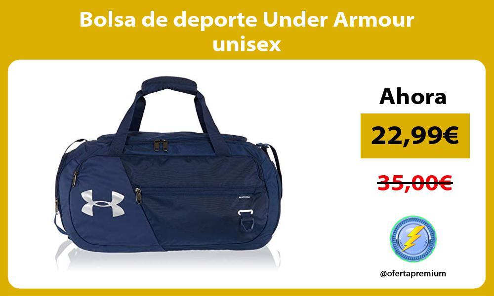 Bolsa de deporte Under Armour unisex