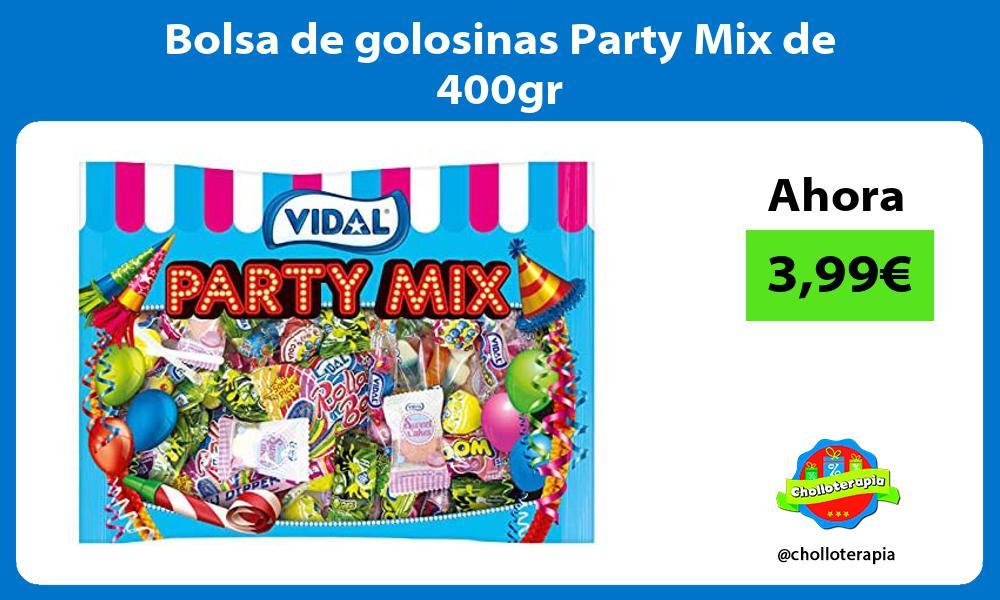Bolsa de golosinas Party Mix de 400gr