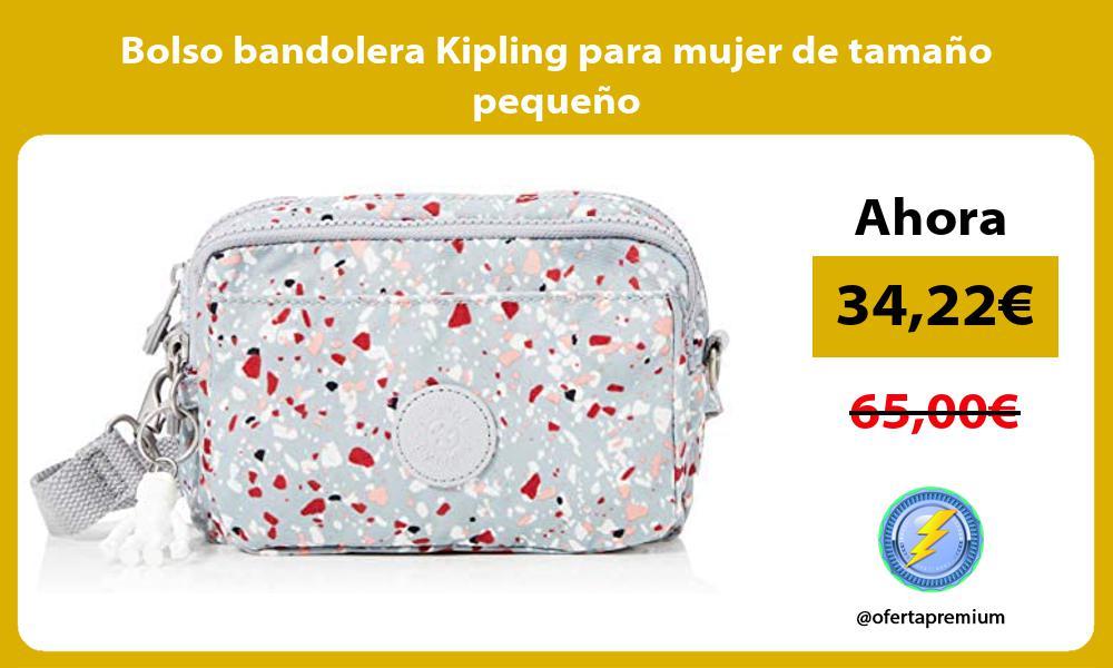 Bolso bandolera Kipling para mujer de tamaño pequeño