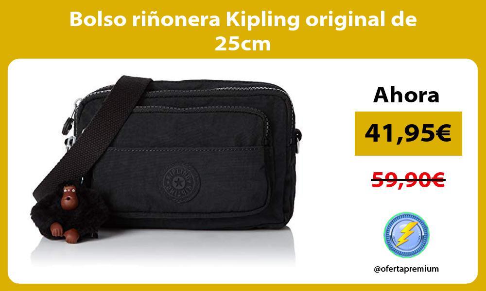 Bolso riñonera Kipling original de 25cm