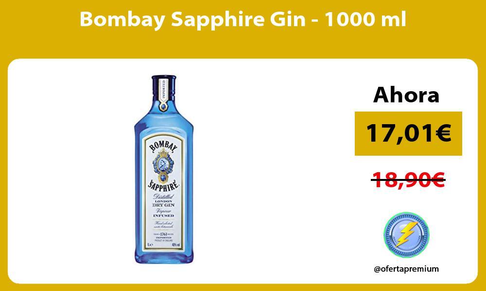Bombay Sapphire Gin 1000 ml
