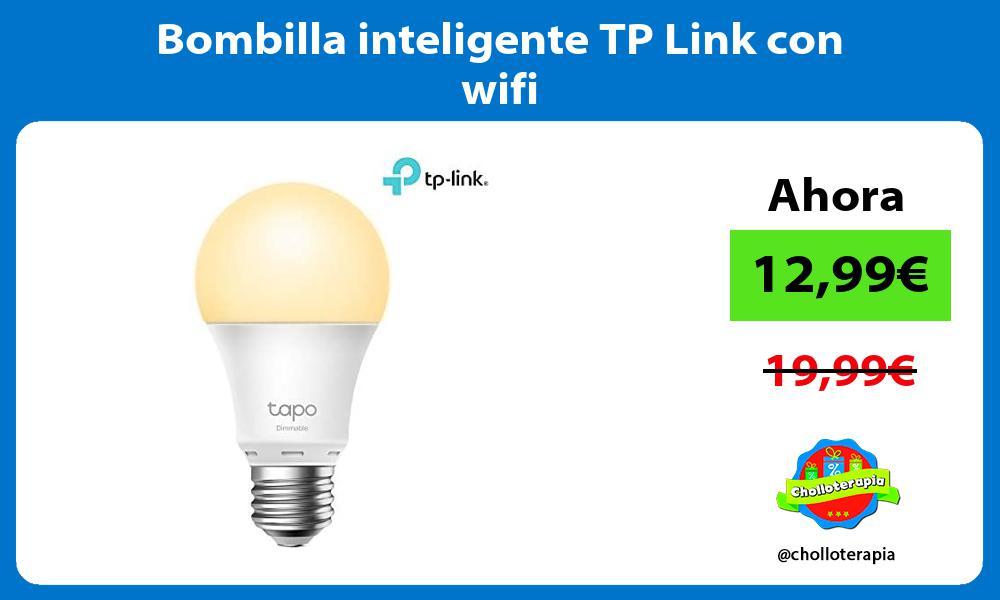 Bombilla inteligente TP Link con wifi