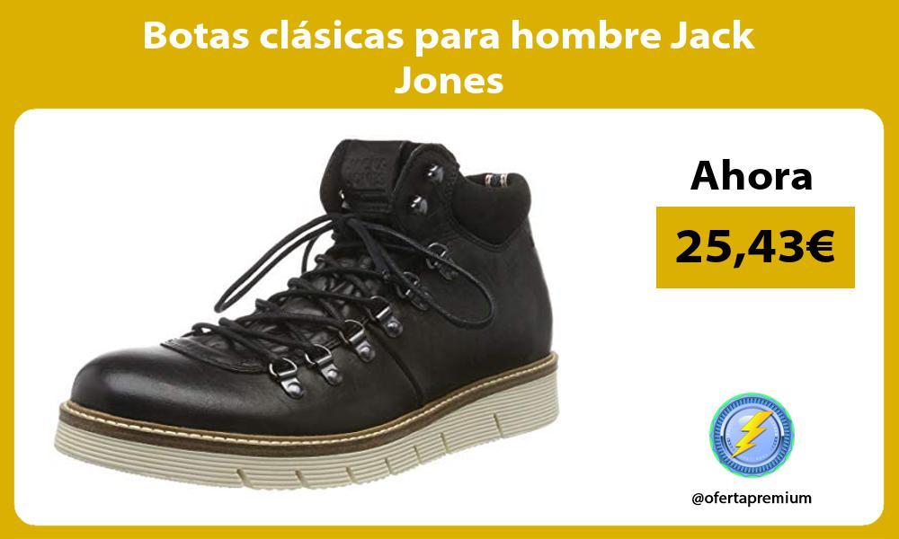 Botas clásicas para hombre Jack Jones