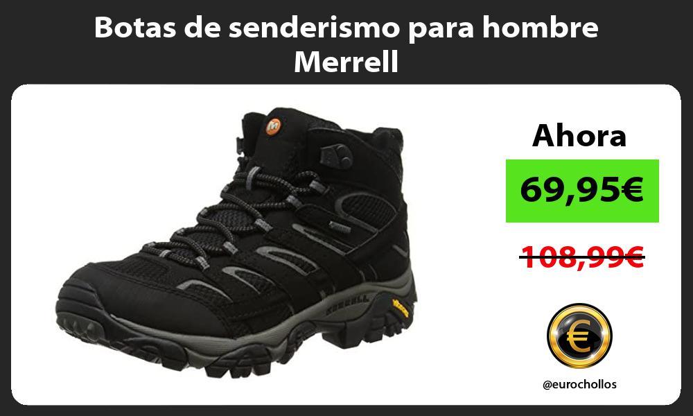 Botas de senderismo para hombre Merrell