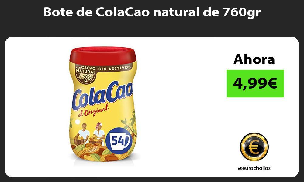 Bote de ColaCao natural de 760gr