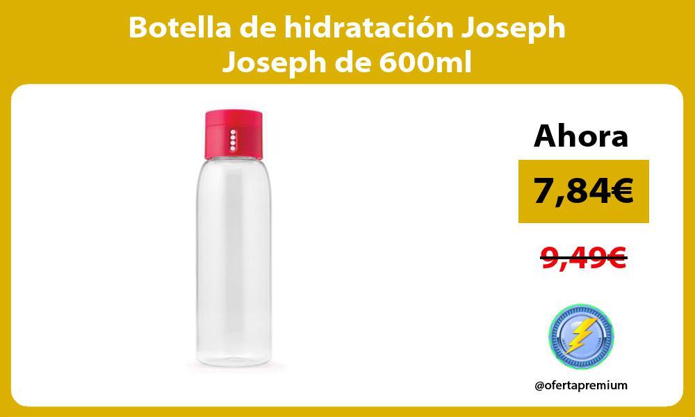 Botella de hidratación Joseph Joseph de 600ml