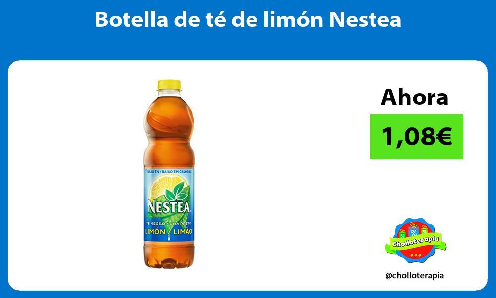 Botella de té de limón Nestea