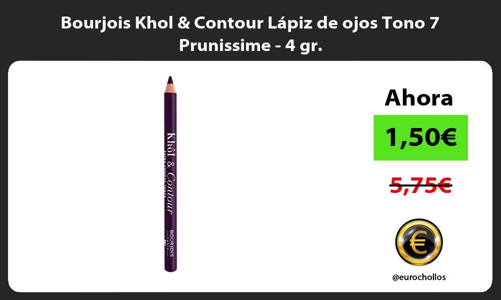 Bourjois Khol Contour Lápiz de ojos Tono 7 Prunissime 4 gr