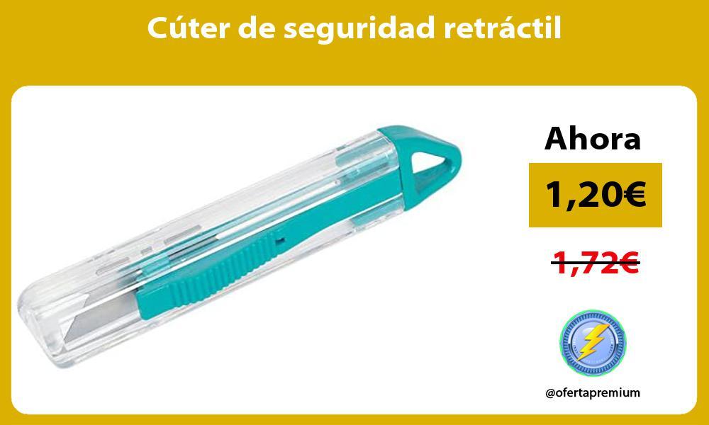 Cúter de seguridad retráctil