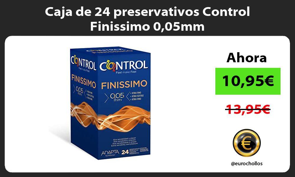 Caja de 24 preservativos Control Finissimo 005mm