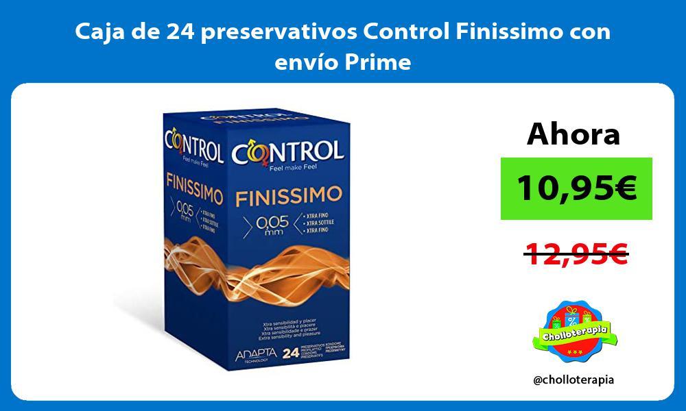 Caja de 24 preservativos Control Finissimo con envío Prime