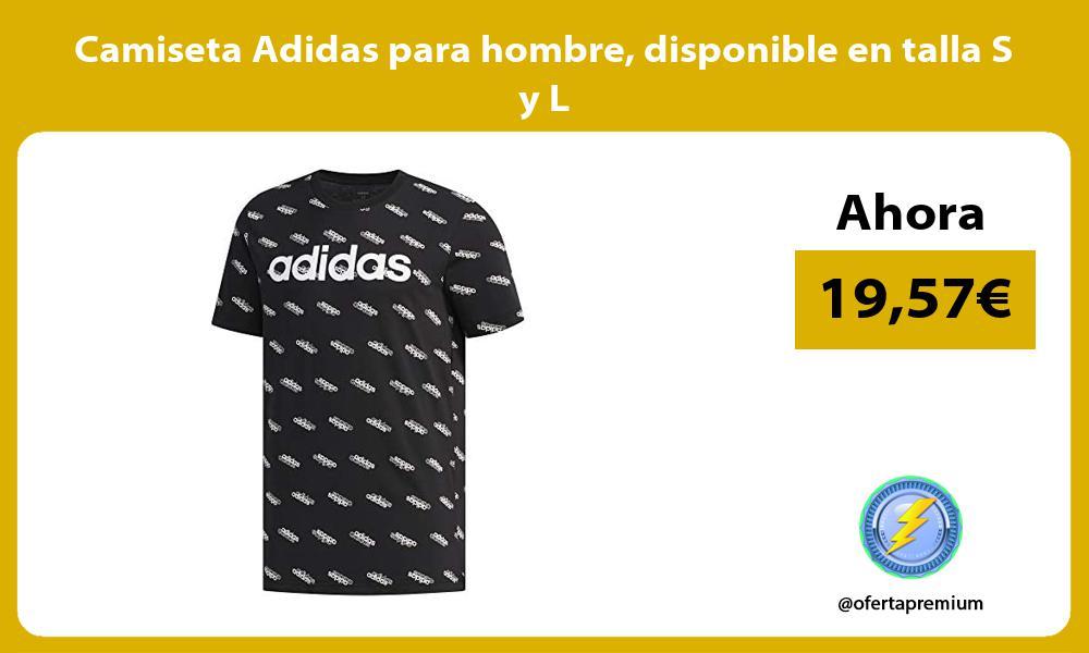 Camiseta Adidas para hombre disponible en talla S y L