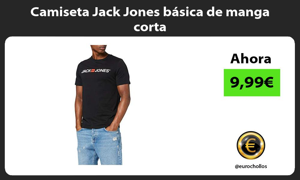 Camiseta Jack Jones básica de manga corta