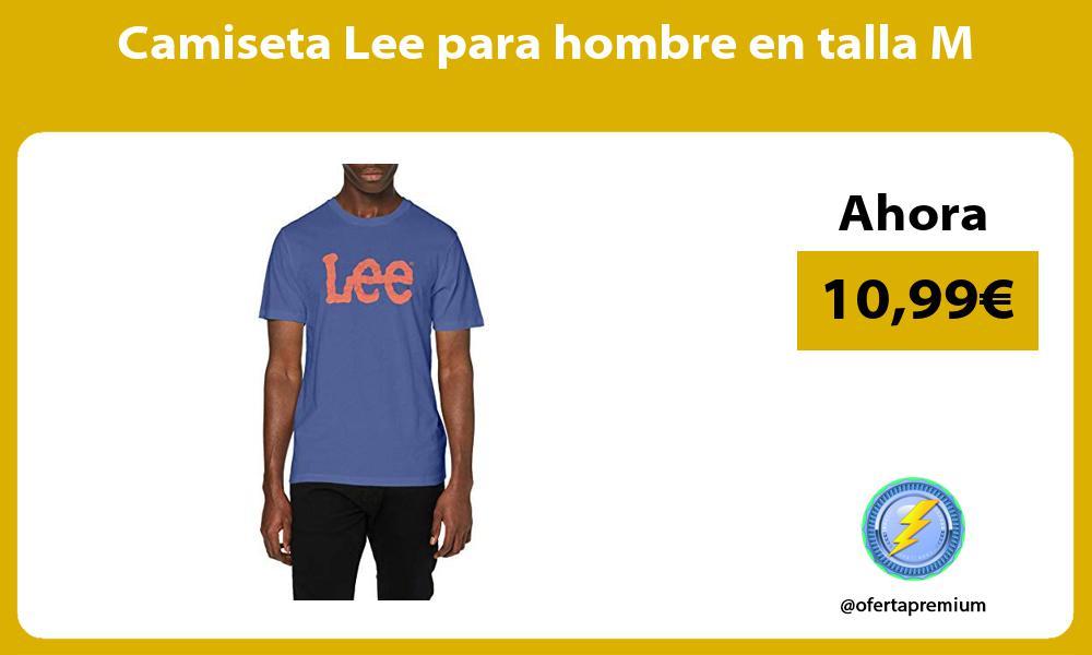Camiseta Lee para hombre en talla M