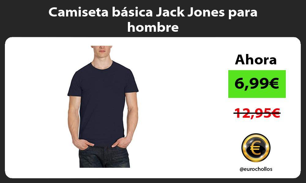 Camiseta básica Jack Jones para hombre