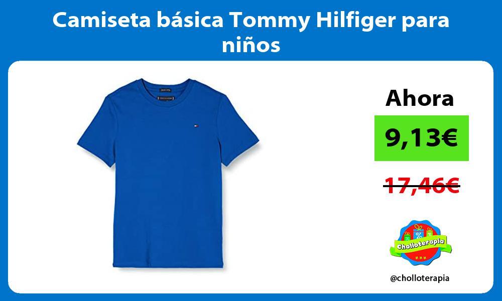 Camiseta básica Tommy Hilfiger para niños
