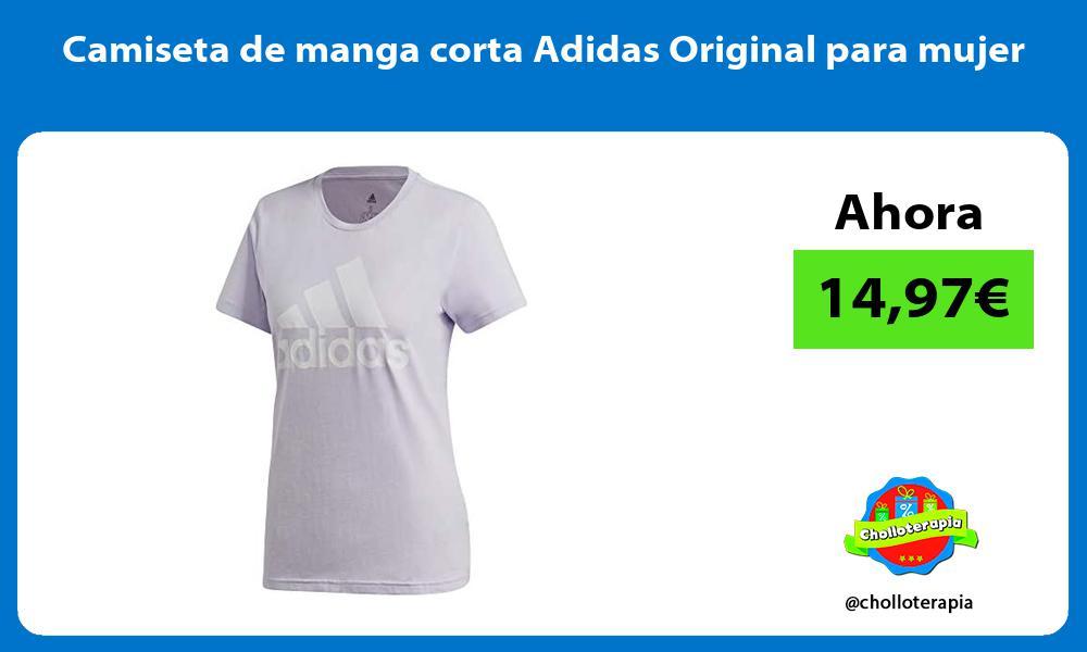 Camiseta de manga corta Adidas Original para mujer