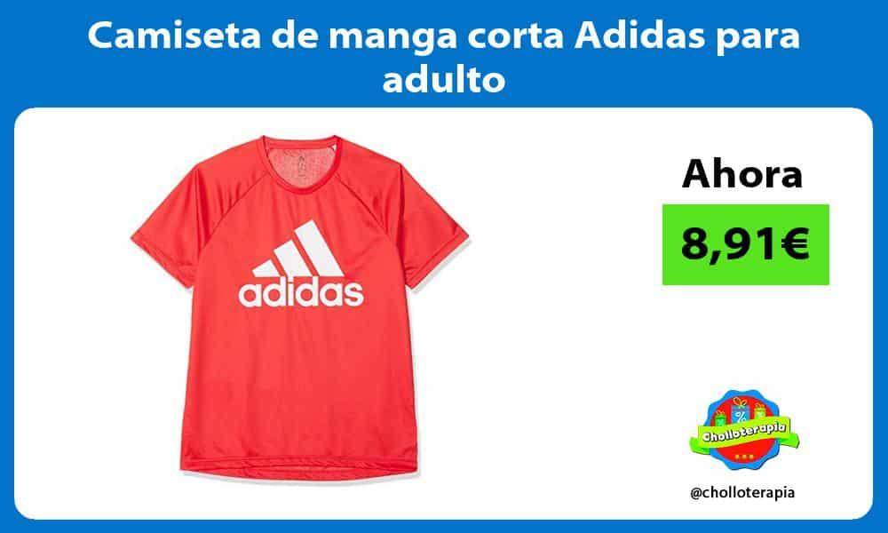 Camiseta de manga corta Adidas para adulto