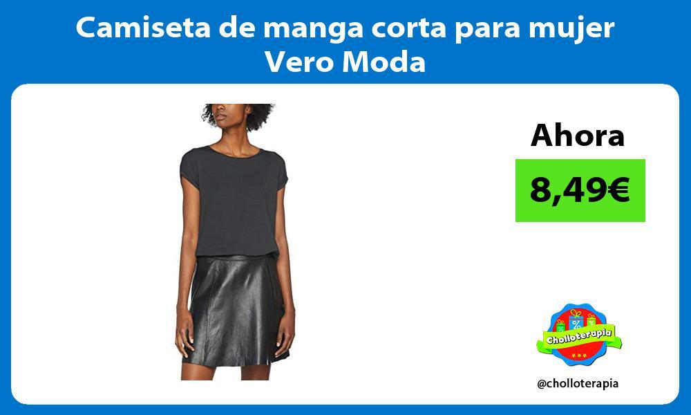 Camiseta de manga corta para mujer Vero Moda