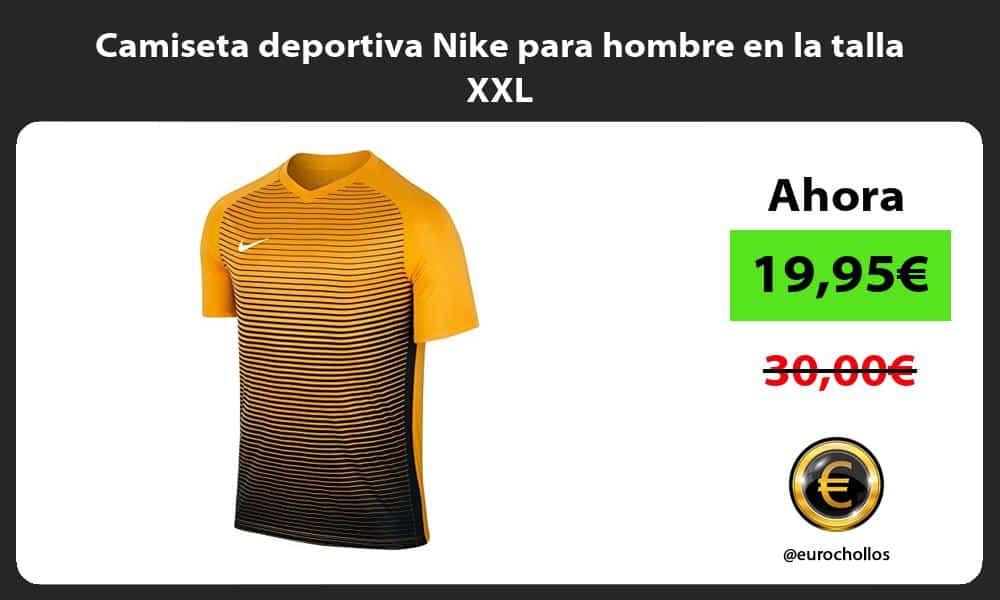 Camiseta deportiva Nike para hombre en la talla XXL