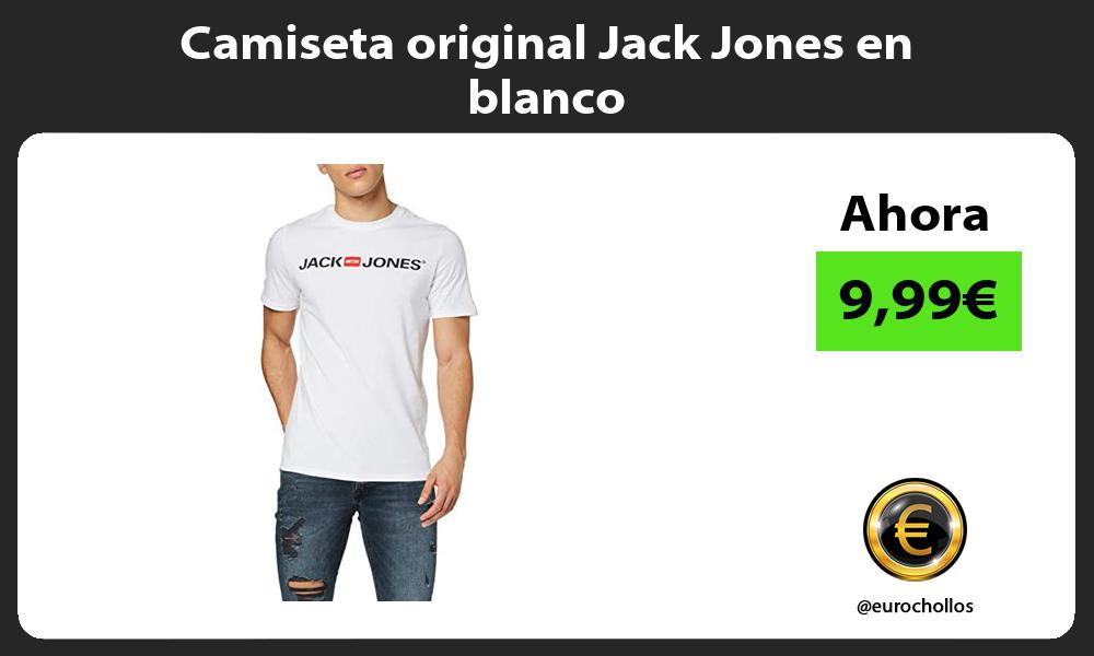 Camiseta original Jack Jones en blanco