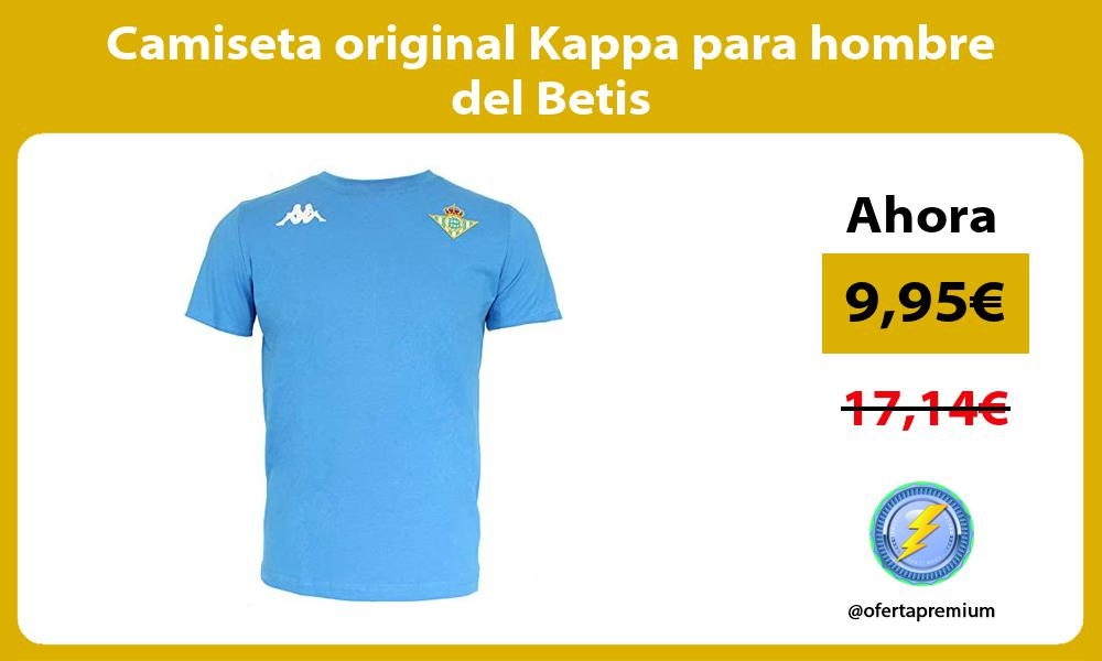 Camiseta original Kappa para hombre del Betis