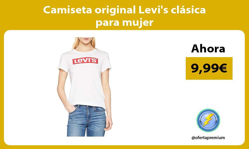 Camiseta original Levis clásica para mujer