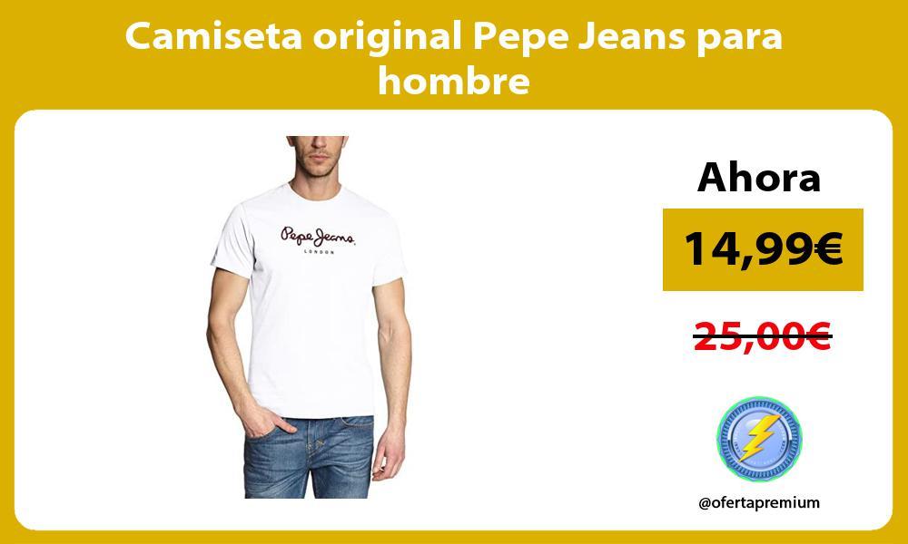 Camiseta original Pepe Jeans para hombre