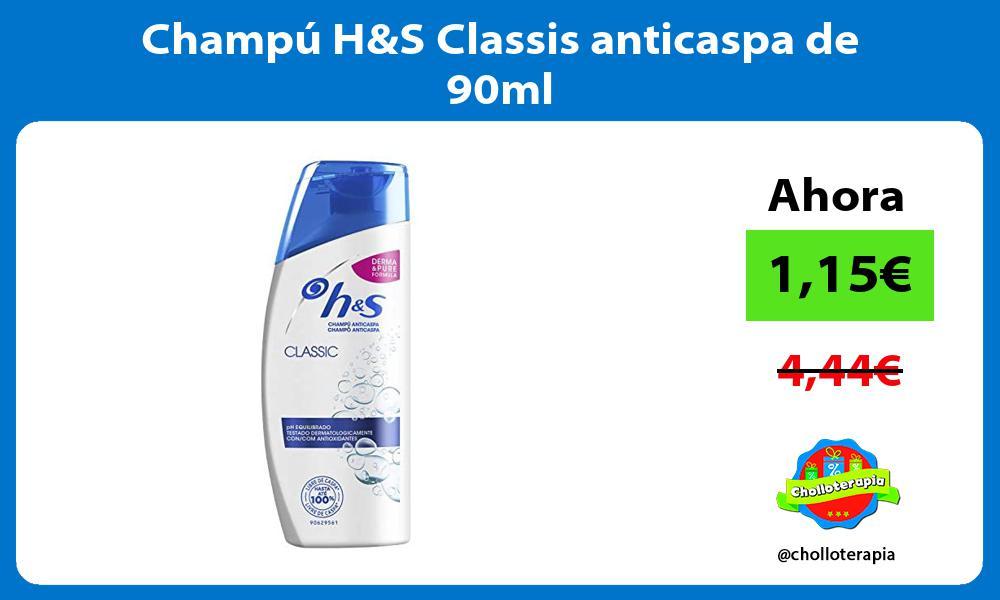 Champú HS Classis anticaspa de 90ml