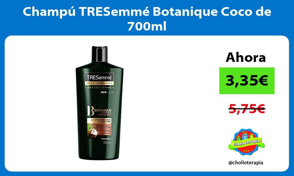 Champú TRESemmé Botanique Coco de 700ml