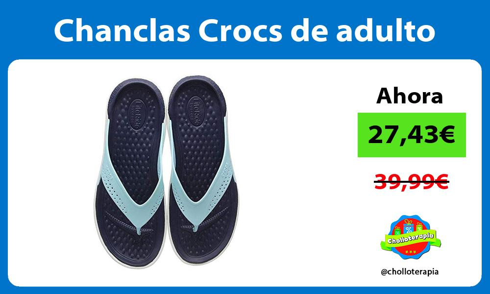 Chanclas Crocs de adulto