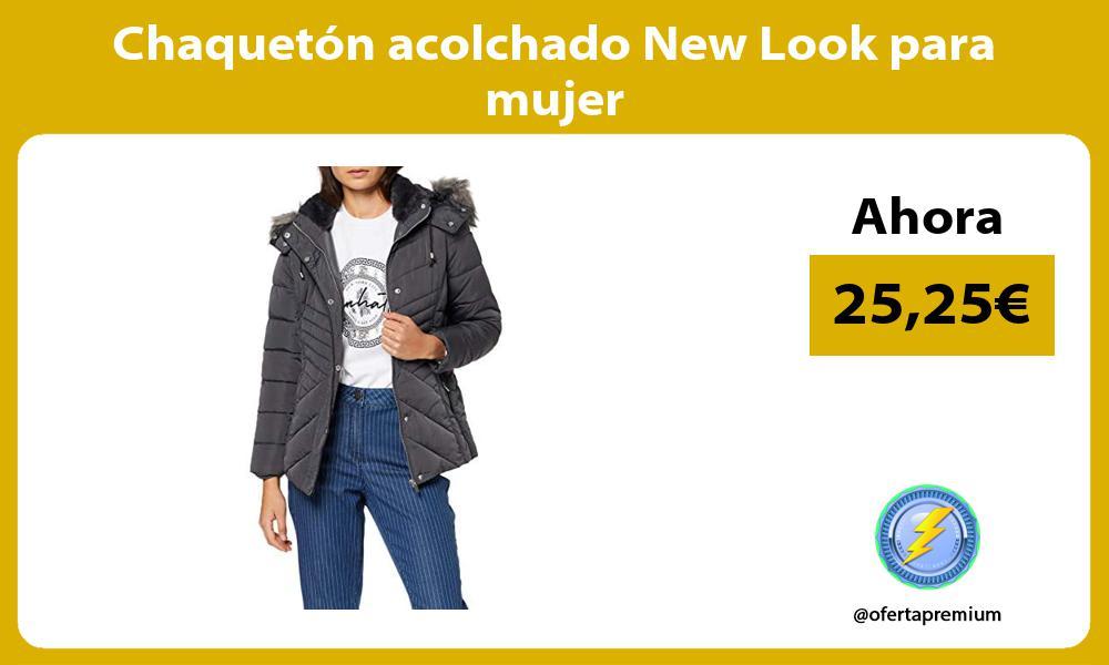 Chaquetón acolchado New Look para mujer