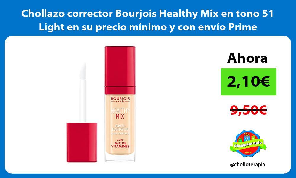 Chollazo corrector Bourjois Healthy Mix en tono 51 Light en su precio mínimo y con envío Prime