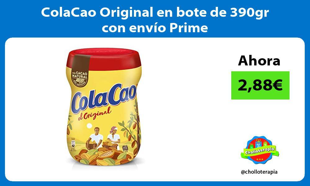 ColaCao Original en bote de 390gr con envío Prime