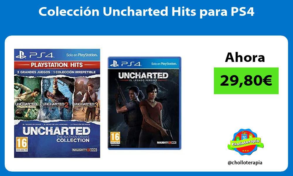 Colección Uncharted Hits para PS4